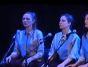 Silvie Jensen performing Dolmen Music by Meredith Monk